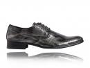 Crocodiles d'argent, peau, impression, chaussures, Lureaux, beau, spécial, coloré