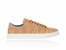 Striped Cork Sneakers | Kurk Sneaker | Lureaux