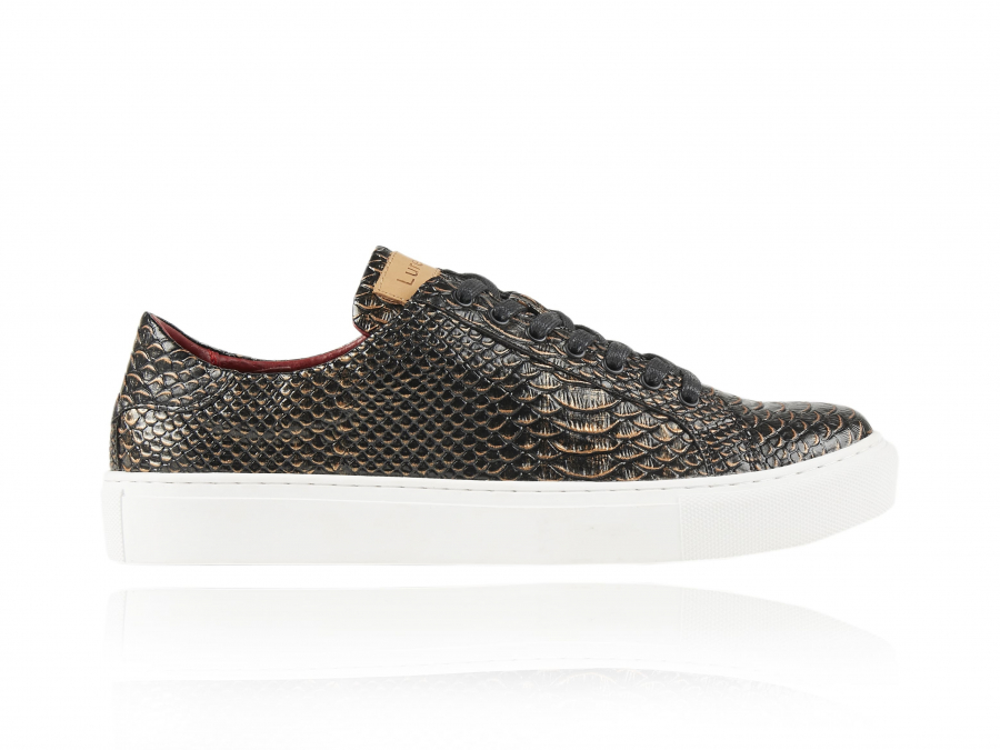 Mamba | Slangenhuid Sneakers | Lureaux